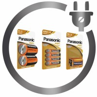 Alcalic Batteries Panasonic®