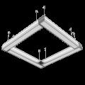EL188242 | LED Γραμμικά 36W|IP20|4000k|2700lm|1200x70xh70mm|Black|enjoySimplicity™