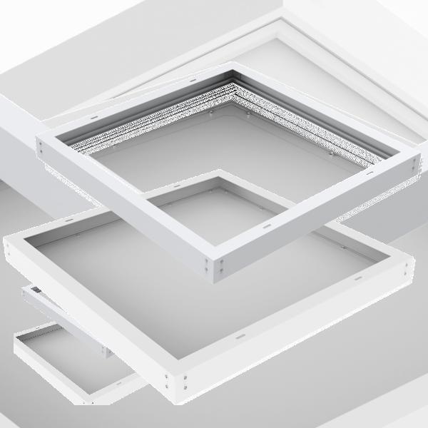 EL192999 | Κιτ για επίτοιχη εγκατάσταση panel 595x595x10