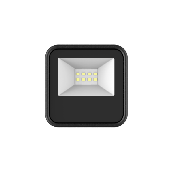 EL198714 | LED FloodLight black IP65 L109xW90xH26.9mm|10W|4000k|900lm|enjoySimplicity™