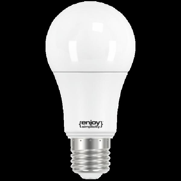EL716060 | LED A60|10.5W(>75W)Ε27|6500k|1060lm|enjoySimplicity™|Classic