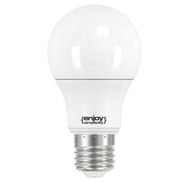 EL716470 | LED A60|5.5W(>40W)Ε27|6500k|480lm|15y