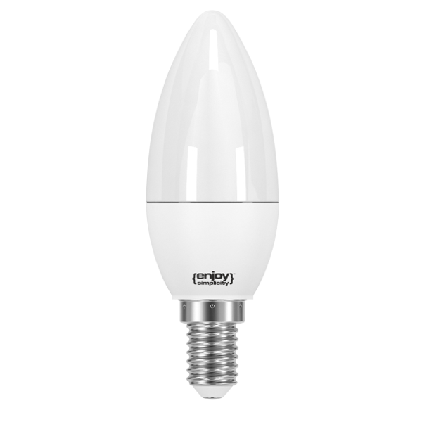 EL721254 | LED B35|3.3W(>25W)Ε14|4000k|250lm|enjoySimplicity™|Classic
