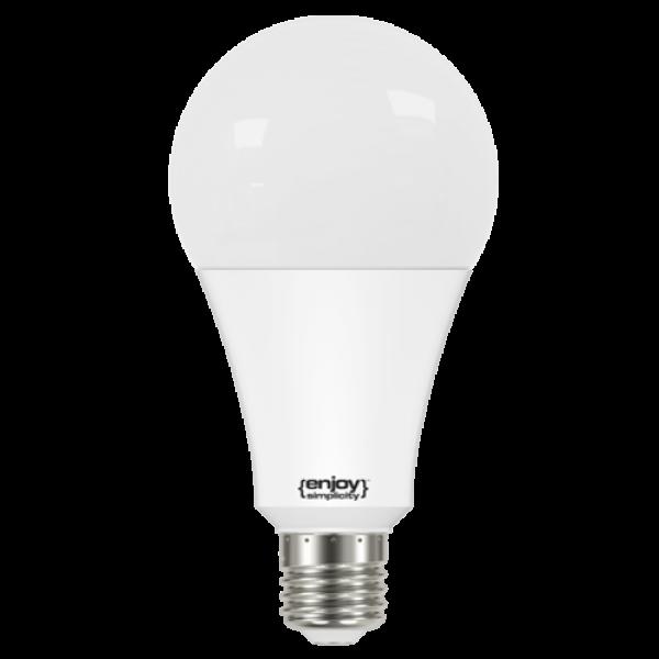 EL724506 | LED A80|24.5W(>220W)Ε27|6500k|3452lm|enjoySimplicity™|Classic