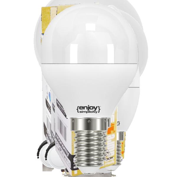 EL102454 | LED Ρ45|5W(>42W)Ε14|4000k|500lm|enjoySimplicity™|Classic