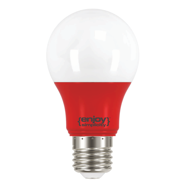 EL733805 | LED A60 E27 ALL RED |3.5W (>40W)|enjoySimplicity™|Classic