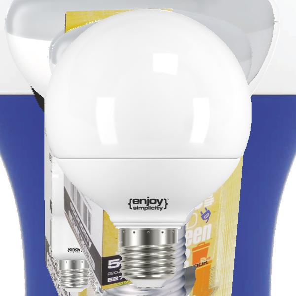 EL749806 | LED BALL G95|9.5W(>100W)Ε27|2700k|806lm|enjoySimplicity™|Classic