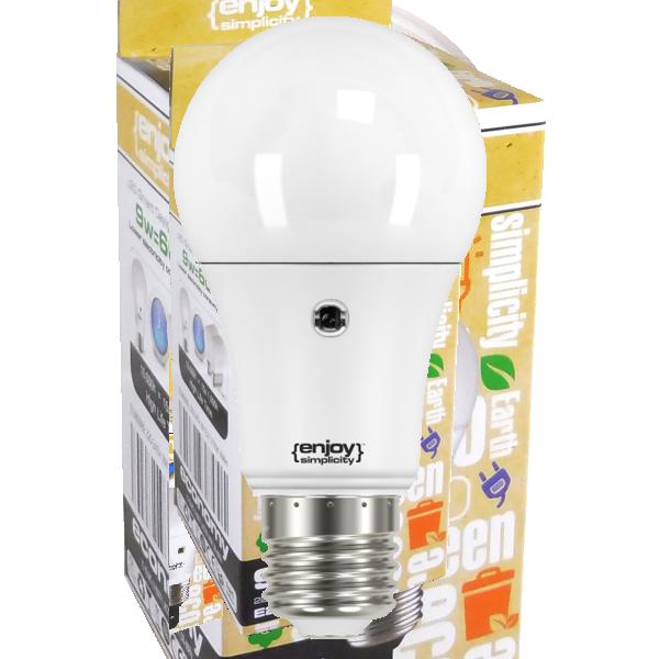 EL782806 | SmartLED A60 SENSOR|8.5W(>60W)Ε27|2700k|806lm|enjoySimplicity™|Classic