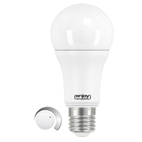 EL794060 | LED A60 DIM|11W(>75W)Ε27|4000k|1100lm|enjoySimplicity™|Classic