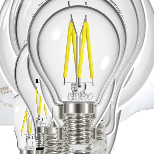 EL822828 | LED FILLAMENT CLEAR|P45 2.3W E14|4000k|250lm|enjoySimplicity™