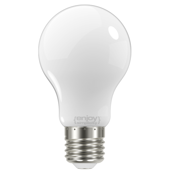 EL824604 | LED FILLAMENT MILKY A60|6.7W Ε27|2700k|730lm|enjoySimplicity™