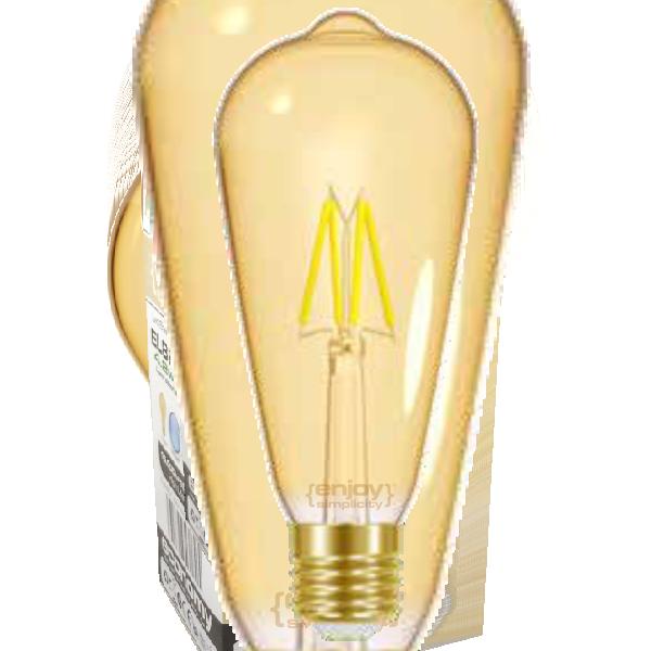 EL825641 | LED FILLAMENT AMBER|ST64 4W E27|<2000k|320lm|enjoySimplicity™