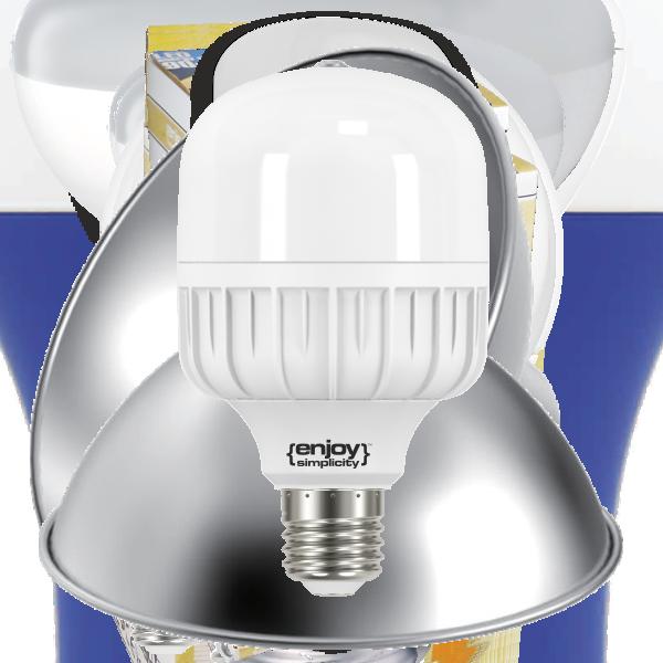 EL851654|LED High Power T80|16.5W(100-240V)Ε27|4000k|1800lm|(>110w)|A++|enjoySimplicity™|Classic