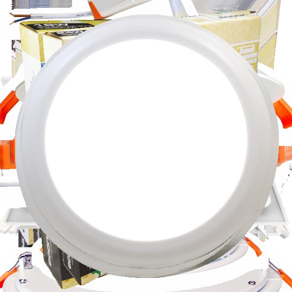 EL191916 | Smart Flat LED Extra Slim Panel 2in1 Φ230xh15mm|18W|6500k|1500lm|enjoySimplicity™