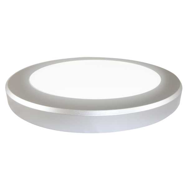 EL191924 | Smart Silver LED Panel 2in1 Φ220xh18mm|18W|4000k|1550lm|enjoySimplicity™