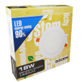 EL191814 | LED Slim Panel Φ225xh11mm|18W|4000k|1305lm|enjoySimplicity™