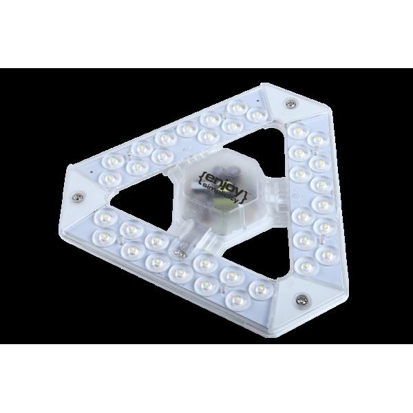 EL609186 | T9 LED ΜΕ ΜΑΓΝΗΤΗ|18W(>32W)G10q|5700k|1550lm|Φ185mm|enjoySimplicity™