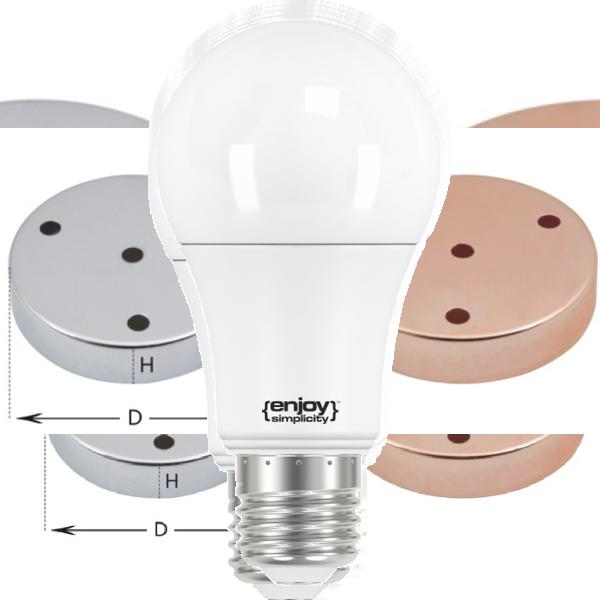 EL712024 |LED A67|19W(>150W)Ε27|2700k|2452lm|enjoySimplicity™|Classic
