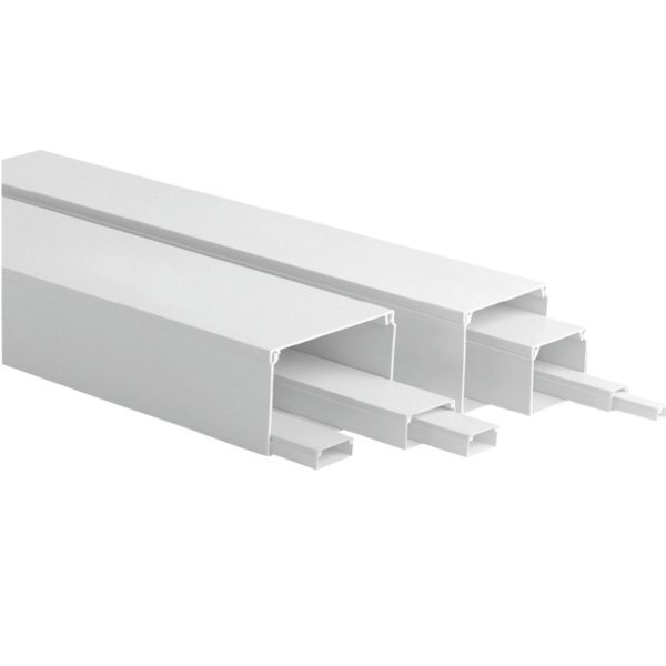 ELC2010  |  GLUE TRUNKING SYSTEM 20xh10 WHITE (Base Thikness: 0.75mm)