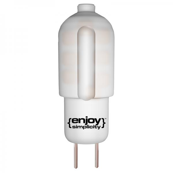 EL104124 | LED G4  AC/DC12V|2.5W(>25W)|4000k|120lm|A++|enjoySimplicity™|Classic