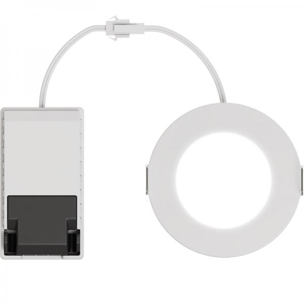 EL191011 | LED DownLight 110⁰ White IP65|4.2W|4000k|480lm|Φ85xh29|+Driver|enjoySimplicity™