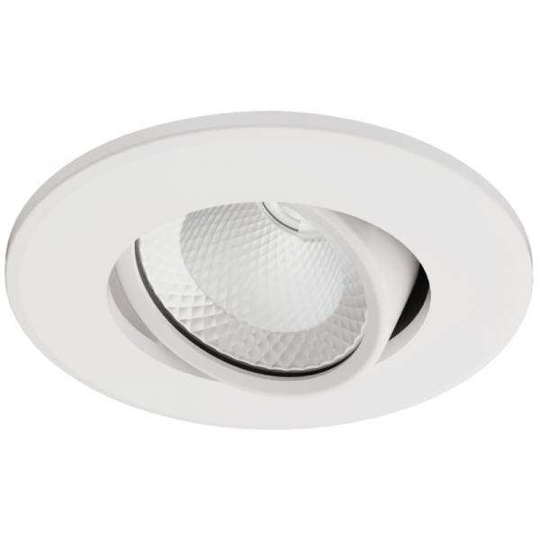 EL191021 | LED DownLight COB Κινητό 45⁰ White|3.1W|4000k|210lm|Φ68xh36|+Driver|enjoySimplicity™
