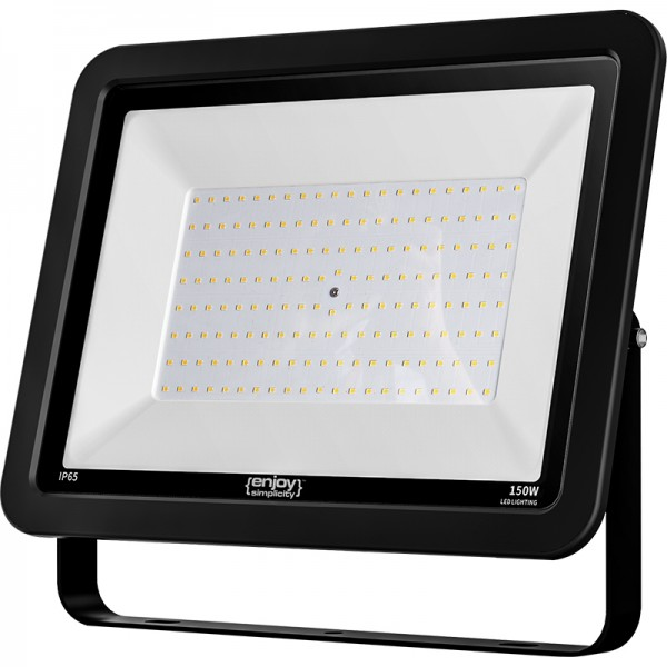 EL197954 | LED FloodLight black IP65|150W|4000k|12000lm|379x285xh36mm|enjoySimplicity™