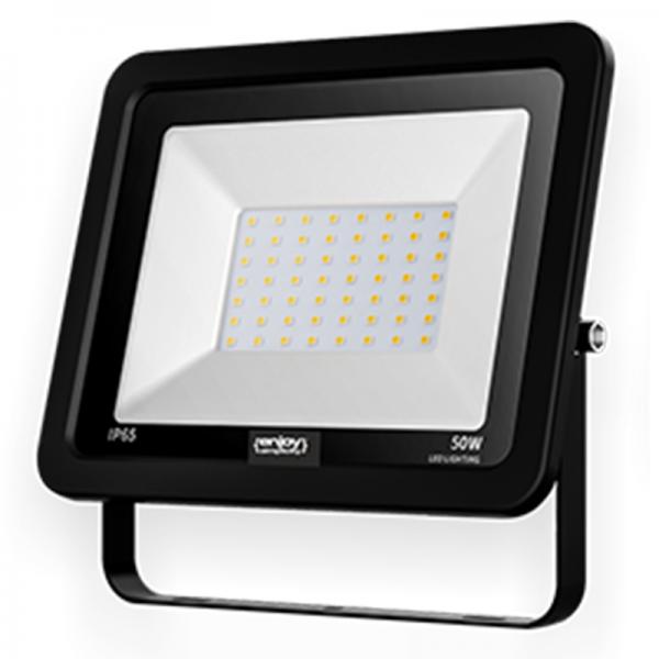 EL197526 | LED FloodLight black IP65|50W|6500k|4000lm|206x160xh34mm|enjoySimplicity™