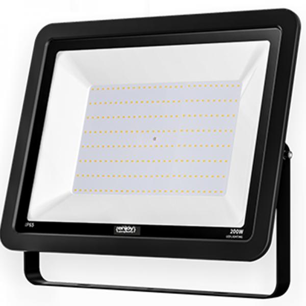 EL197924   LED FloodLight black IP65 200W 4000k 16000lm 445x345xh35mm enjoySimplicity™