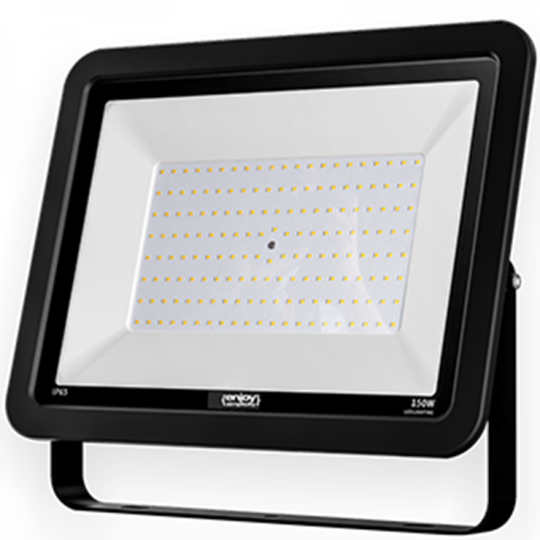 EL197954 | LED FloodLight black IP65|150W|4000k|12000lm|379x285xh36mm|enjoySimplicity™