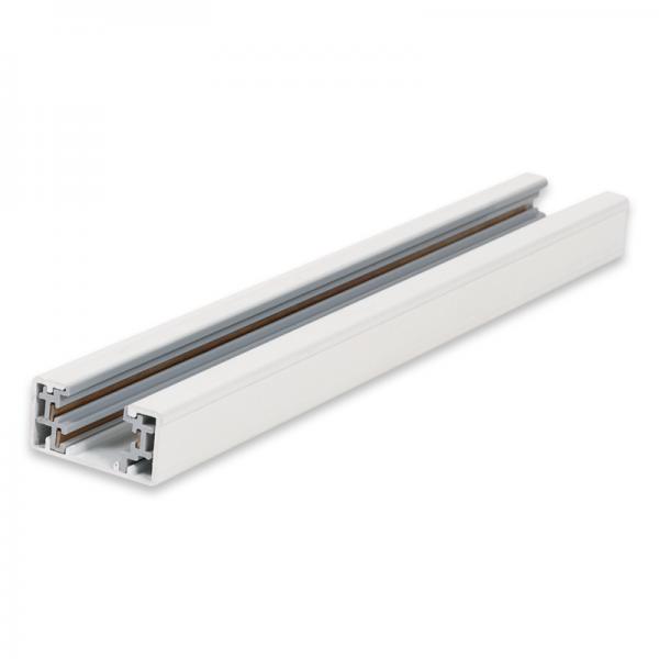 EL180311   Aluminium LED Truck 3wires Squuare IP20 1mt White +Ending Plug+Power Connector enjoySimplicity™