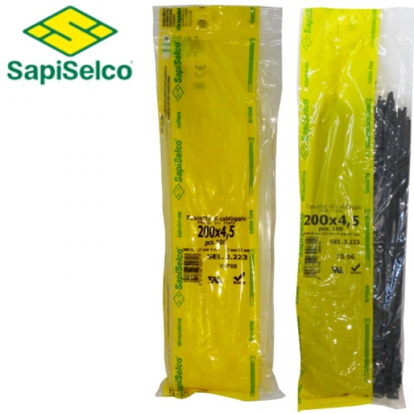 1107 | CABLE TIES [Α] 3,5x280mm 100pcs.