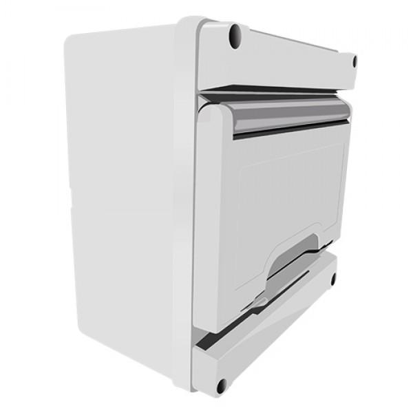 15082   SURFACE BOARD/Grey Door/1LINE/8mod/ΙΡ55/170x170x100