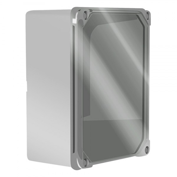 17208 | SURFACE ENCLOSURE TRANSPARENT LID 150x110x75mm/IP55