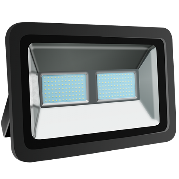 EL193996 | LED FloodLight black IP65 L450xW320xH160mm|200W|6500k|16845lm