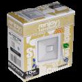 EL197102 | LED FloodLight white IP65 L110xW110xH26mm|10W|3000k|900lm|enjoySimplicity™