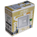 EL197202 | LED FloodLight white IP65 L130xW126xH26mm|20W|3000k|1800lm