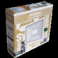 EL197502 | LED FloodLight white IP65 L190xW174xH26mm|50W|3000k|4500lm|enjoySimplicity™