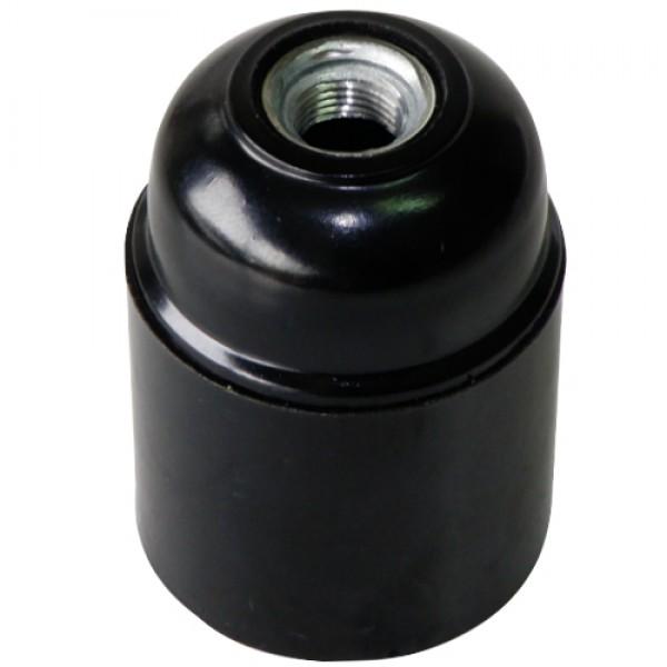 2933 | BLACK LAMPHOLDER Ε27