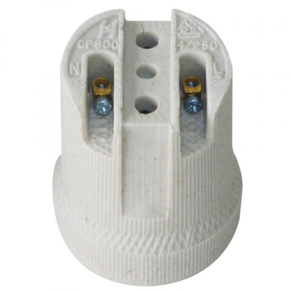 2936 | White Porcelain lamp holder