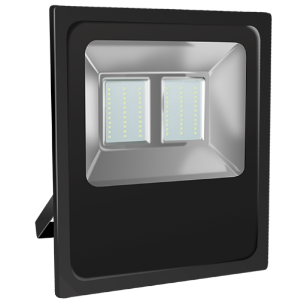 EL193706 | LED FloodLight black IP65 L335xW295xH71mm|70W|6500k|5947lm