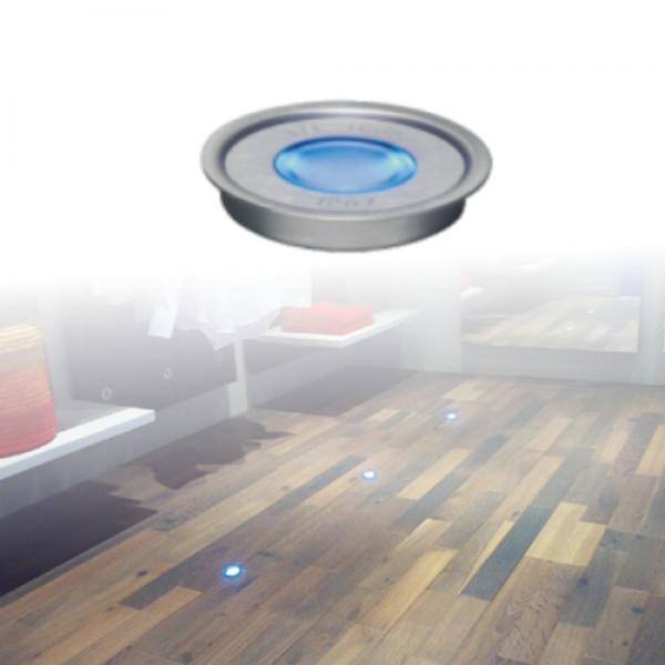 5923   ΕΥΕLED® 8L:INOX LED:0,3W BLUE