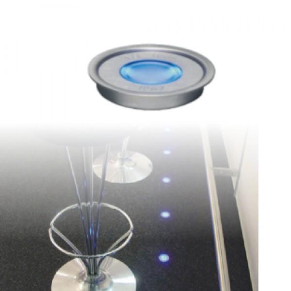 5924 | ΕΥΕLED® 20L:INOX LED:0,3W BLUE