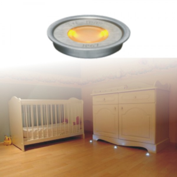 5926  | ΕΥΕLED® 5L:INOX LED:0,3W ORANGE