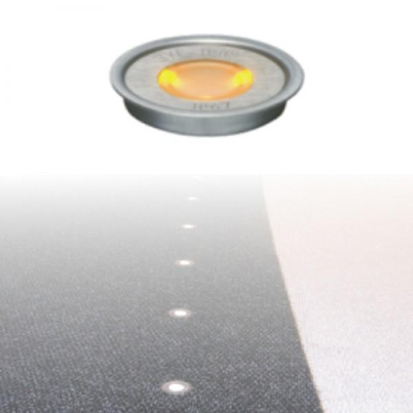 5927   ΕΥΕLED® 8L:INOX LED:0,3W ORANGE