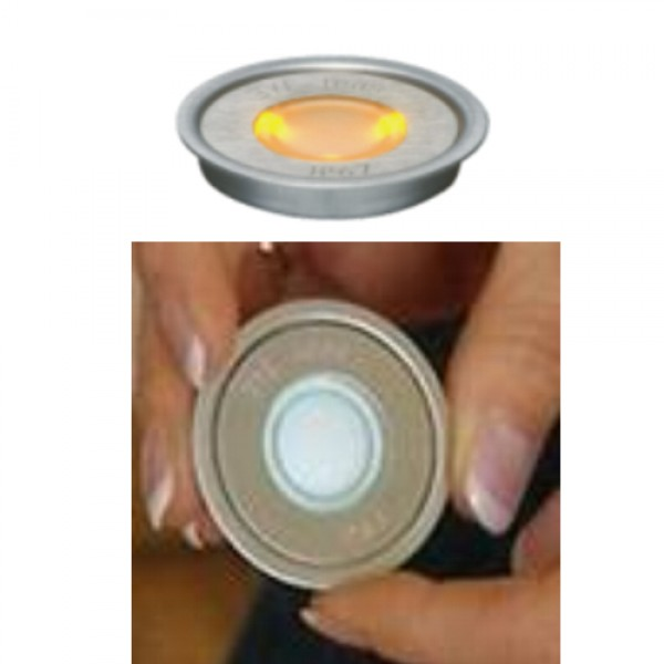 ΕΥΕLED® 20L: INOX LED:0,3W ORANGE