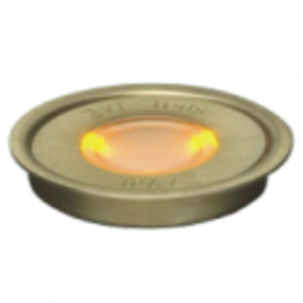 5932 | ΕΥΕLED® 20L:BRASS LED: 0,3W ORANGE