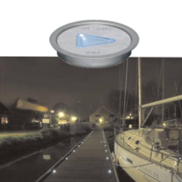 5952 | ΕΥΕLED® QUIDE 20L INOX-LED:0,3W WHITE