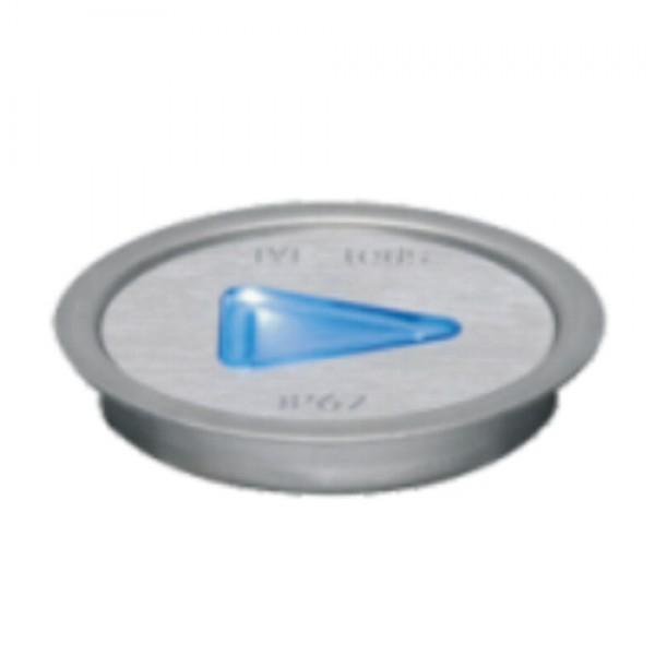 5953 | ΕΥΕLED® QUIDE 3L:INOX-LED:0,3W ΒLUE
