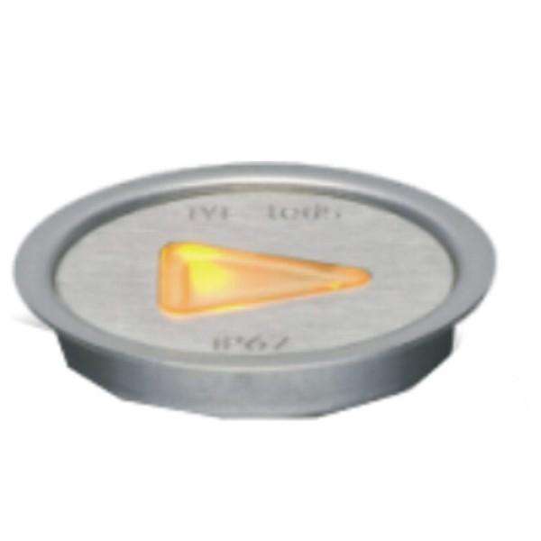5957 | ΕΥΕLED® QUIDE 3L INOX LED:0,3W ORANGE